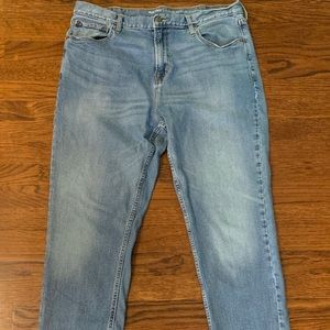 Old navy light wash athletic fit jeans